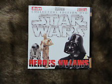 Star Wars:Heroes&Villians.2 Collecters Edition DVD. Sun/News of the World