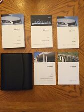 2013 Lexus GS350 with Navigation System Complete Set Owner's Manual