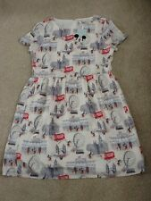 Cath Kidston x Disney Mickey Mouse in London Dress. Size 10. Brand New Tags.
