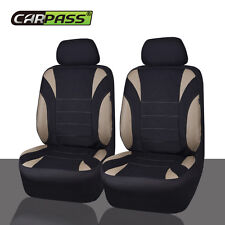 CAR PASS Universal fit for vehicles Neoprene waterproof car seat covers beige