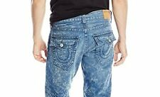 NWT TRUE RELIGION JEANS $258 MENS RICKY STRAIGHT PANTS IN ARTIST LAB SZ 38