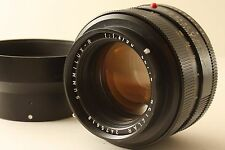 Excellent! Leica Summilux-R 50mm f/1.4 Germany lens and hood 50 ##20