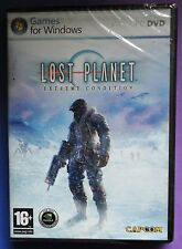 LOST PLANET EXTREME CONDITION PC DVD-ROM GAME brand new & sealed UK ORIGINAL