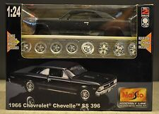 Maisto's Assembly Line 1966 Chevrolet Chevelle SS 396 Diecast Model Kit - 1:24