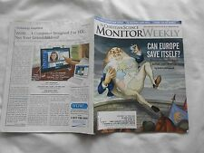 THE CHRISTIAN SCIENCE MONITOR WEEKLY-OCTOBER 29,2012-CAN EUROPE SAVE ITSELF ?