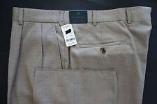 NWT Brooks Brothers Golden Fleece Tan Loro Piana Wool Trousers W38 MSRP $448