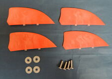 Those 2 inch fins are set by 1 screw on kiteboard kitesurfing kiteboarding