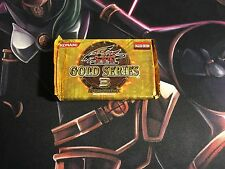 GOLD SERIES 3 SEALED BOOSTER PACK GLD4 ANIME BATTLE CITY 5D'S YUGIOH