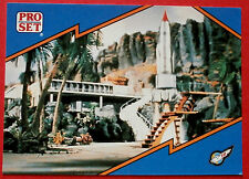 Thunderbirds PRO SET - Card #014, Thunderbird 1 Lift-Off - Pro Set Inc 1992