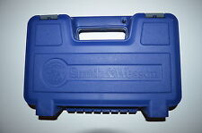 SMITH&WESSON S&W PISTOL CASE LARGE BLUE M&P 9 40 45 SHIELD SIGMA GOVERNOR SW1911