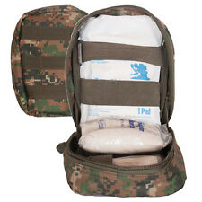 Large MOLLE Tactical 1st Aid Gear Soldiers Medic IFAK Trauma Kit Pouch MARPAT