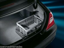 Mercedes Benz Collapsible Storage Bin Shopping Crate Basket Genuine OEM