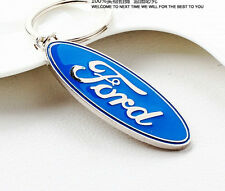 ford  3D Auto Car Keyring Gift Keychain Metal Key Chain Ring Charm Keyfob
