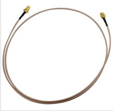 RF COAX SMA MALE TO FEMALE NUT BULKHEAD JUMPER PIGITAIL WIFI CABLE RG316 3FT 1M