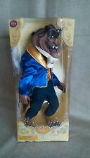 "DISNEYSTORE GENIUNE BEAUTY AND THE BEAST CLASSIC BEAST DOLL 12"" BNIB"