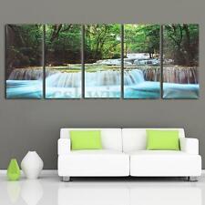 Quadro Moderno 5PZ 60*30CM stampa su tela arredamento arredo arte casa naturale
