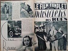 """LE FILM COMPLET 1936 N 1881 """" MUSICIENS DES RUES"""":  HANS DEPPE et JESSIE VIHROG"""
