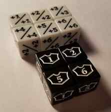 10x Counter & Planeswalker 1-6 Loyalty Dice for Magic: The Gathering CCG MTG