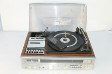 VTG Lloyd's Stereo Receiver, Cassette Recorder, Turntable + Remote Microphone