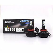 JDM ASTAR 2x 4400lm H16 Type 2 CREE Super Bright 6000K White LED Fog Lights Bulb