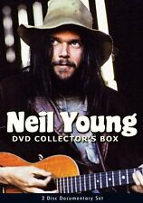 NEIL YOUNG DVD COLLECTOR'S BOX New Sealed 2 DVD Set