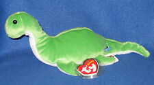 Ty Enigma the Loch Ness Monster Beanie Baby - Uk Exclusive Mint with Mint Tags