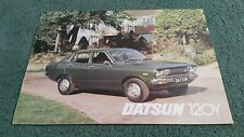 DATSUN SUNNY 120Y COUPE SALOON ESTATE Late 1976 / 1977 UK BROCHURE