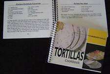Tortillas Cookbook 101 Recipes Mexican Style Meals, Desserts, Breakfast, cooking