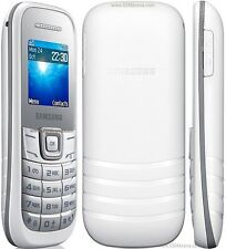 Samsung E1200 Téléphone Mobile (débloqué) sim libre blanc de base de téléphone