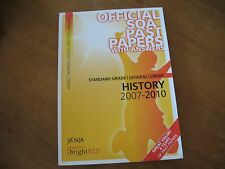 Bright Red Official SQA past papers with answers for History 2007-2010