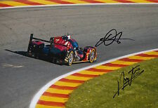Kraihamer, Imperatori Hand Signed Rebellion Racing 12x8 Photo Le Mans 2016 9.