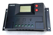 2X 20 AMP solar panel controller USA FAST SHIP Battery charge regulator CM20 TWO