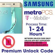 Unlock Code for SAMSUNG Galaxy S2 S3 S4 S5 Note 1 2 3 locked to T-Mobile