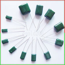 500 PCS x 630V 0.047uF 47nF 47000pF 2J473 J ±5% Mylar Film Capacitors Radial NEW