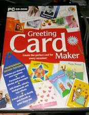 Greeting Card Maker -  PC GAME- FREE POST