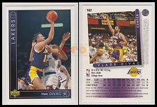 NBA UPPER DECK 1993/94 - Vlade Divac # 162 - Lakers - Ita/Eng - MINT