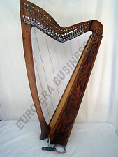 27 string irish harp , irish celtic rosewood 27 string harp With Carrying Bag