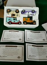 4 Truck Matchbox Microbrewery Set - Sam Adams, Rogue, Alaskan - MGB05-M - NIB