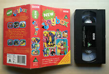 BBC - NEW TOYBOX - POSTMAN PAT, TELETUBBIES, FIREMAN SAM, NODDY - VHS VIDEO