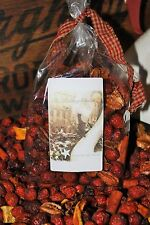 Buttery GINGERBREAD Rose Hips Country Potpourri. HALF POUND!!! Free Shipping!!!