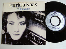 "PATRICIA KAAS: D' Allemagne / Chicanos - 7"" 45T 1988 French press POLYDOR 887495"