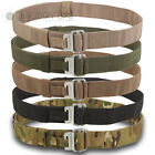 MILITARY ROLL PIN BELT AIRBORNE OLIVE GREEN BLACK MTP MULTICAM BLACK SAND DESERT