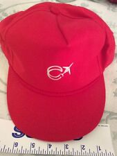 RED Canadair Challanger Bombardier PILOTS Plane Flight HAT Baseball Cap Snapback