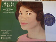 33CX 1771 French Operatic Arias / Callas B/G