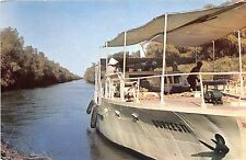 B75250 the danube delta litcov chanel ship bateaux   romania