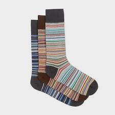 NWT Paul Smith 3-pack signature multistripe socks. Made in England. Great gift!