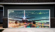 Garage Door 3d Banner Plane Aircraft Helicopter Outdoor Outside Sticker Art GD88