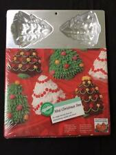 WILTON cake pan NEW Mini Christmas Tree mold NIB