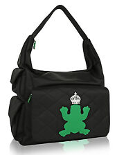 My Flat In London Diaper Bag w/ Green Frog  BNWT