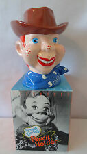 Howdy Doody 1988 King Features Cowboy Head Vase / Pencil Holder MIB #A2095